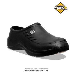 zapatos antideslizantes evacol negros 080