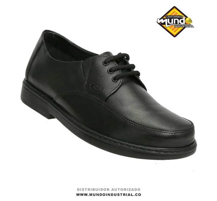 Zapato Rómulo de dotación empresarial negros para hombre