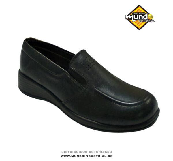 zapatos mocasín de mujer cuero dotación oficina ref 085