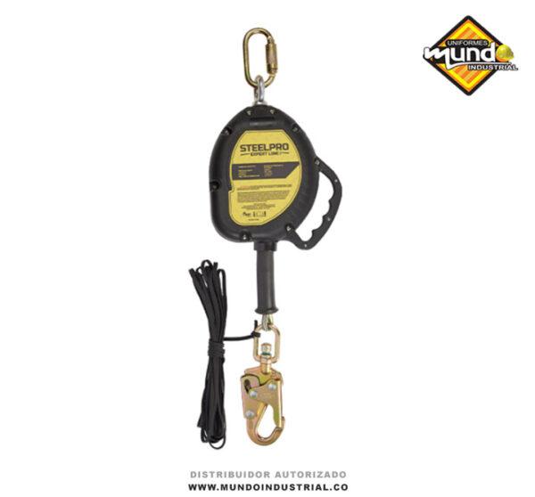 Bloque Auto-Retráctil cable de Acero 9m