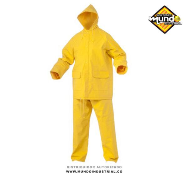 Conjunto Impermeable Amarillo