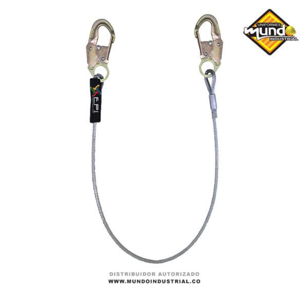 Eslinga de posicionamiento en cable de acero