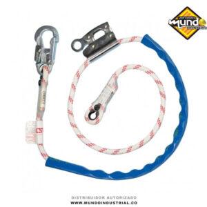 Eslinga sencilla de posicionamiento en cuerda con manostop