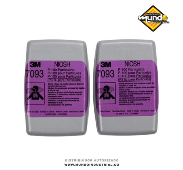 Filtro 3M 7093 para material particulado