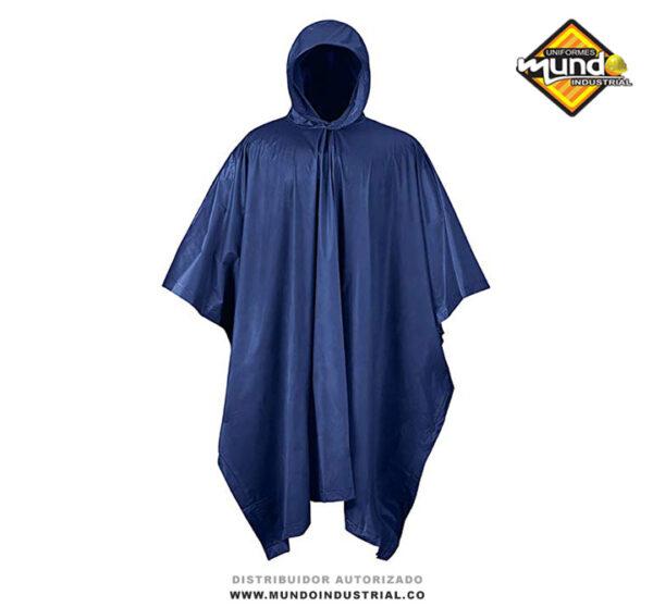 Impermeable Capa Poncho de PVC