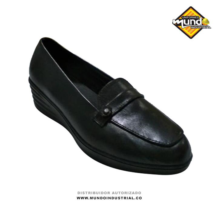 Zapato mocasín de dotación para dama