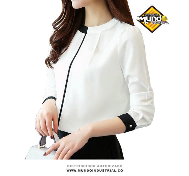 blusas para uniformes de oficina