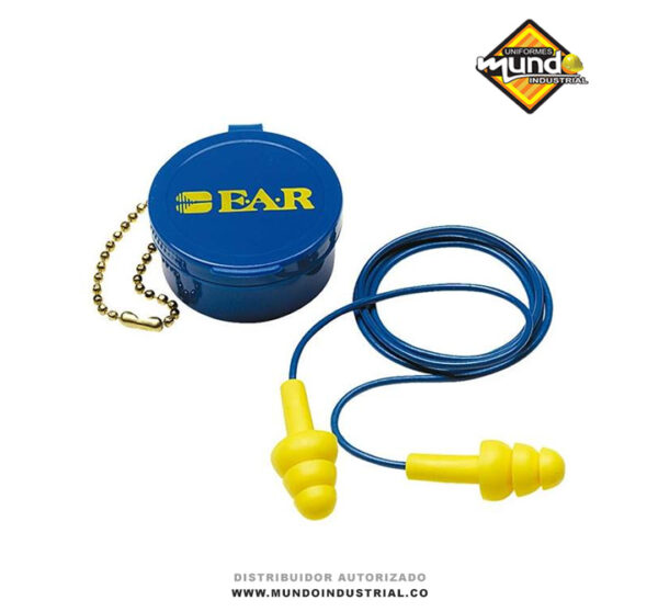Ear ultrafit 3m tapones auditivos reutilizables