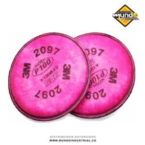 Filtro 3m 2097 para partículas P100