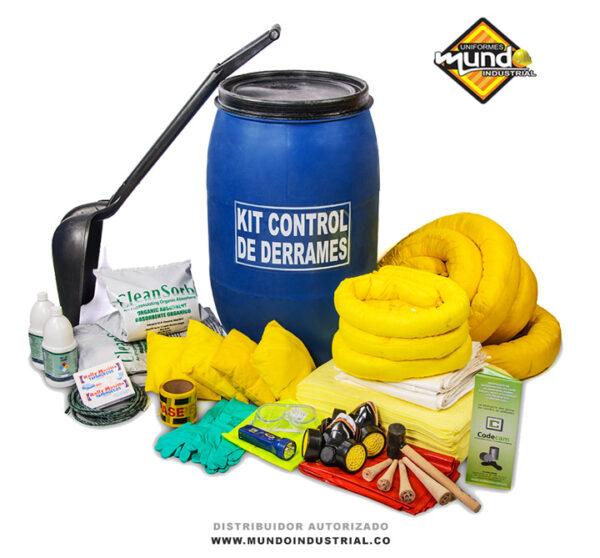 kit control de derrames Químicos de 40 a 55 galones