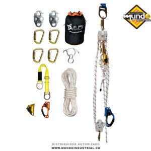 kit de rescate en alturas