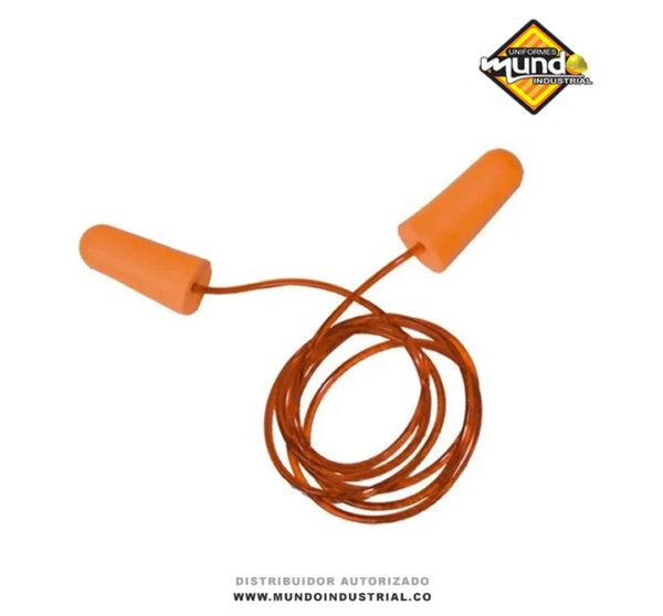 protector auditivo steelpro espuma con cordón