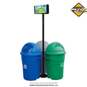 punto ecológico 121 litros Cúcuta