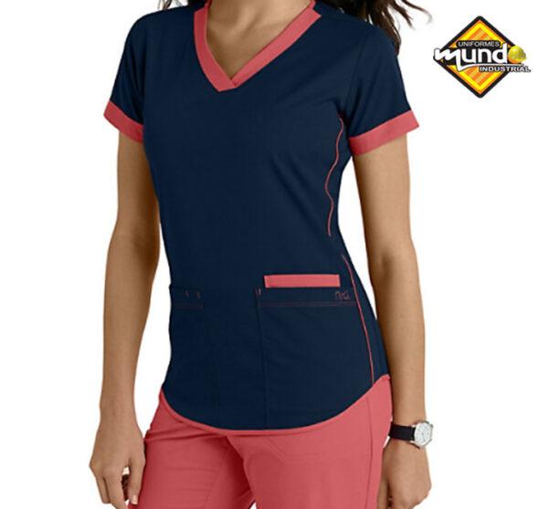 uniformes antifluidos mujer