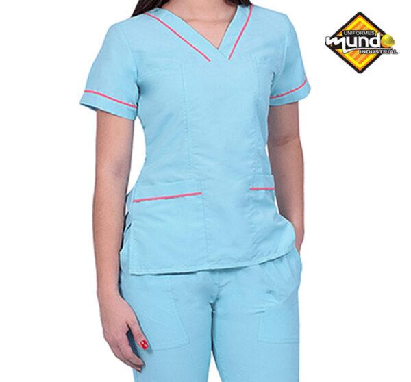uniformes antifluidos para médicos