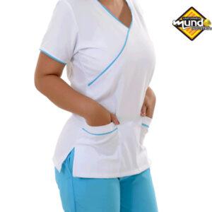 uniformes médicos tela antifluidos